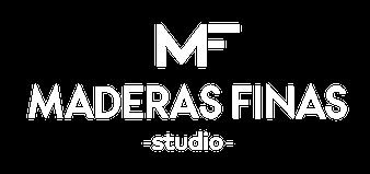 Logo de maderas finas studio
